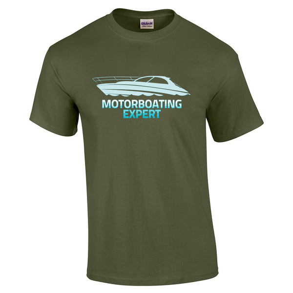 Motorboating Expert T-Shirt - BBT Clothing - 7