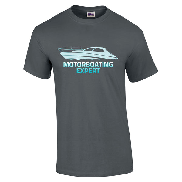 Motorboating Expert T-Shirt - BBT Clothing - 8