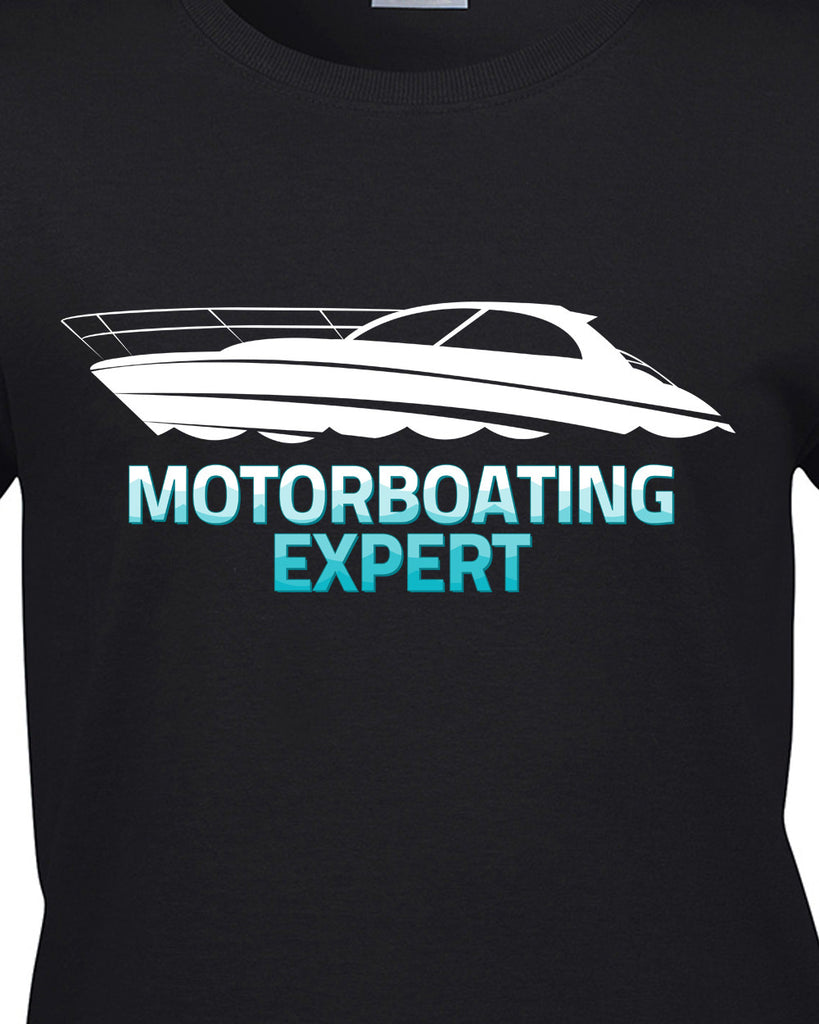 Motorboating Expert T-Shirt - BBT Clothing - 9