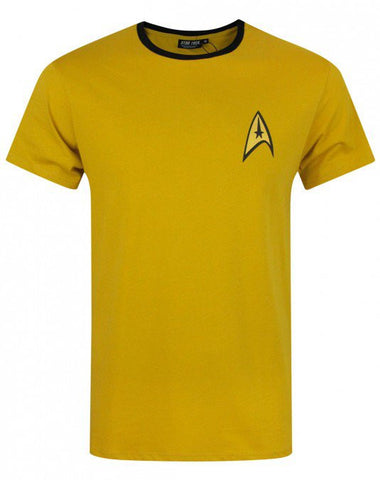 Star Trek T-Shirt - Gold Uniform