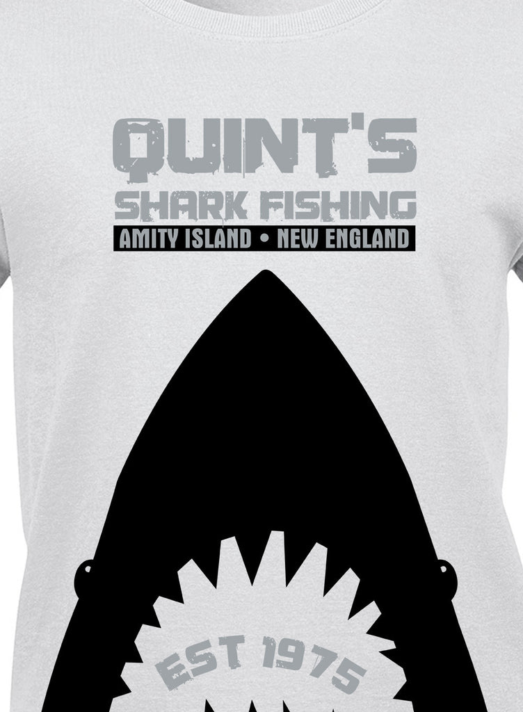 Quints Shark Fishing T-Shirt - BBT Clothing - 16