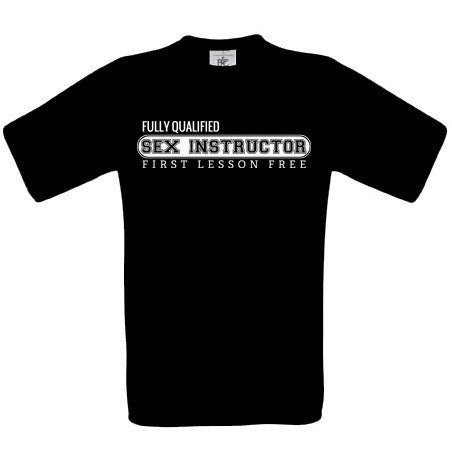 Sex Instructor T-Shirt - BBT Clothing - 3