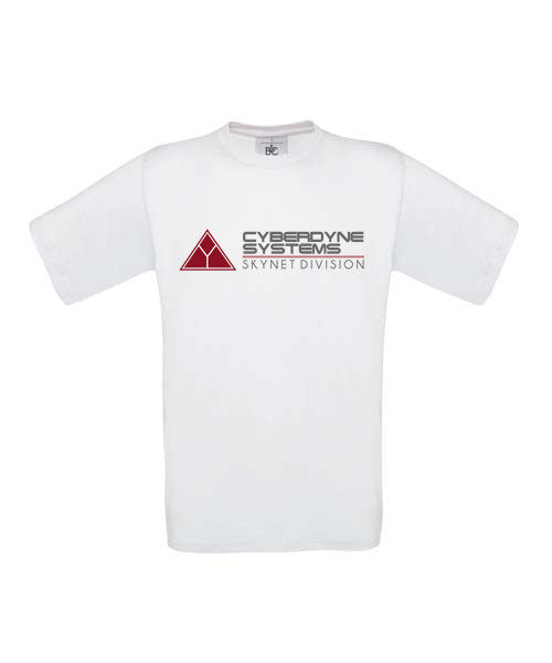 Cyberdyne Systems T-Shirt - White - BBT Clothing - 3