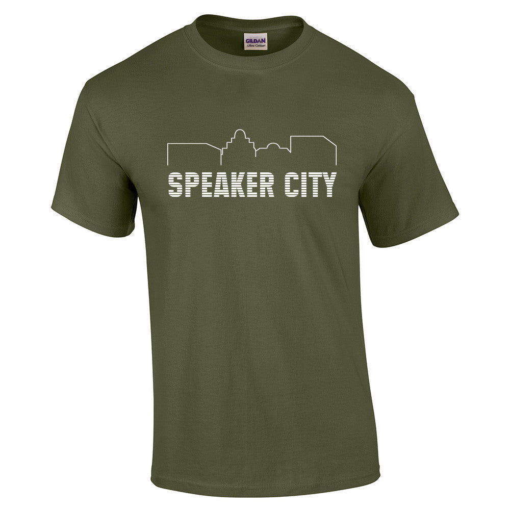 Speaker City T-Shirt - BBT Clothing - 6