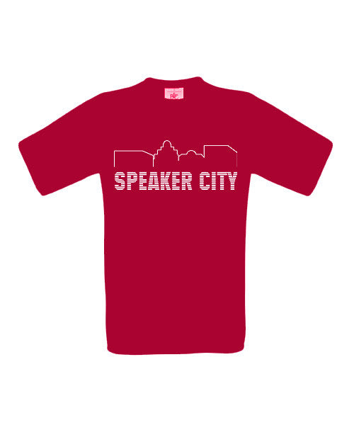 Speaker City T-Shirt - BBT Clothing - 2