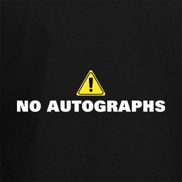 No Autographs T-Shirt - BBT Clothing - 2