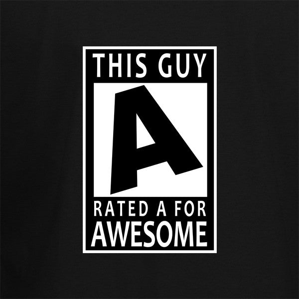 This guy is rated awesome T-Shirt - BBT Clothing - 2