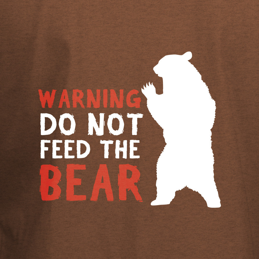 Do Not Feed The Bear T-Shirt - BBT Clothing - 2
