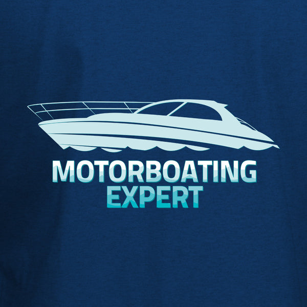 Motorboating Expert T-Shirt - BBT Clothing - 10