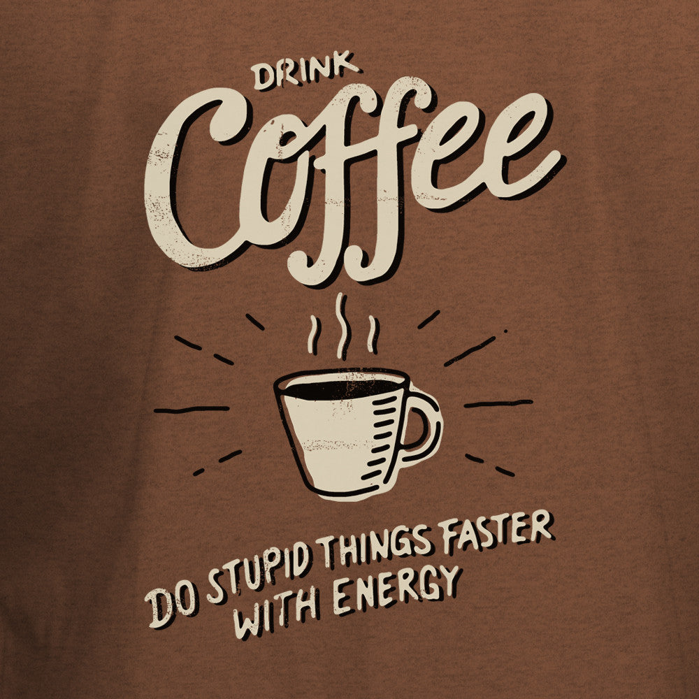 Drink Coffee T-Shirt - BBT Clothing - 2