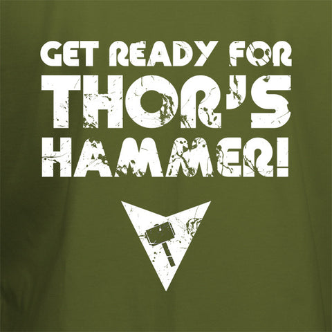 Get ready for Thors Hammer T-Shirt