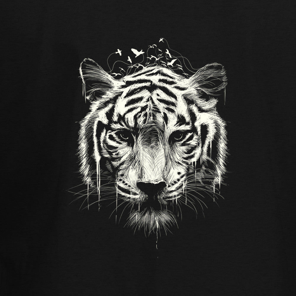 White Tiger T-Shirt - BBT Clothing - 2