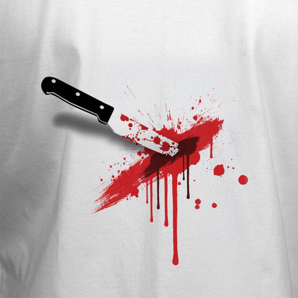 Knife Stab T-Shirt - BBT Clothing - 2