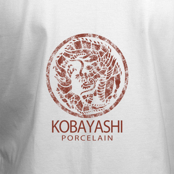 Kobayashi Porcelain T-Shirt -  White - BBT Clothing - 2