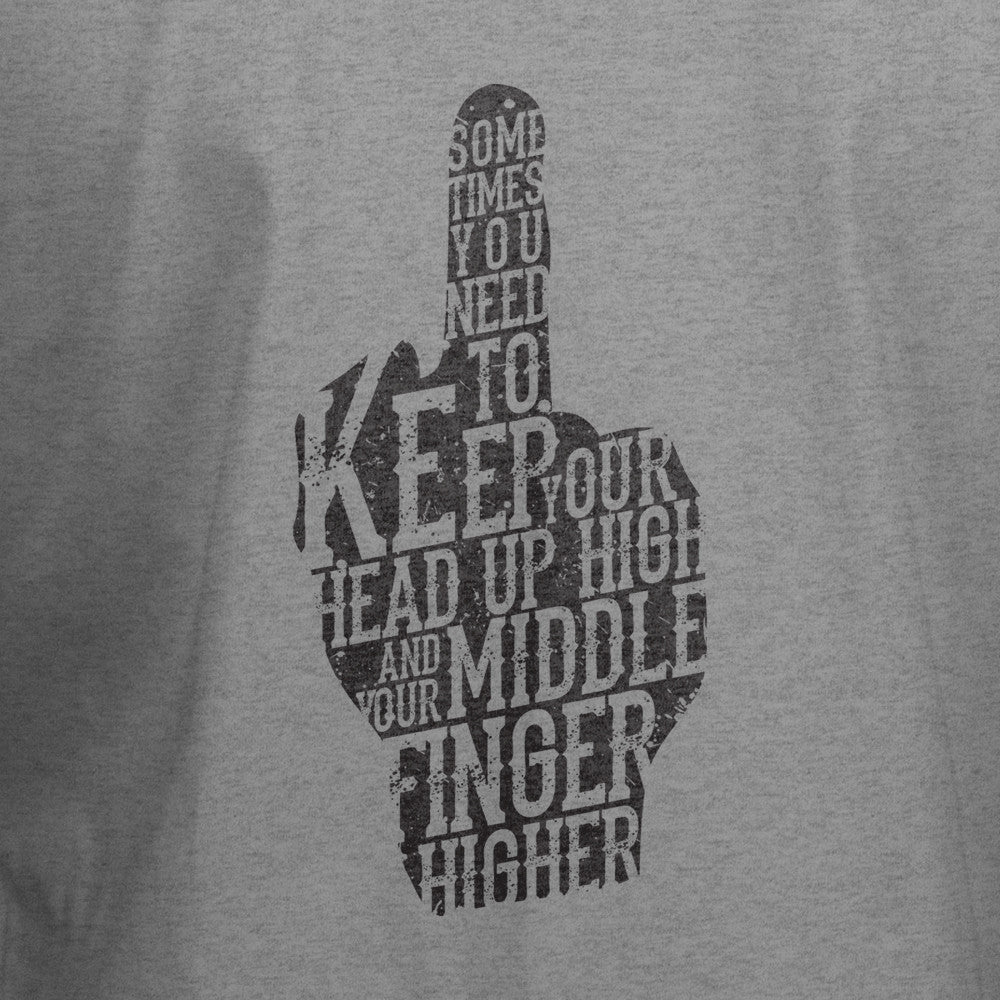 Middle Finger T-Shirt - BBT Clothing - 2