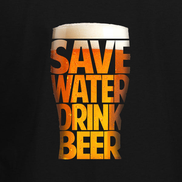 Save Water Drink Beer T-Shirt - BBT Clothing - 2