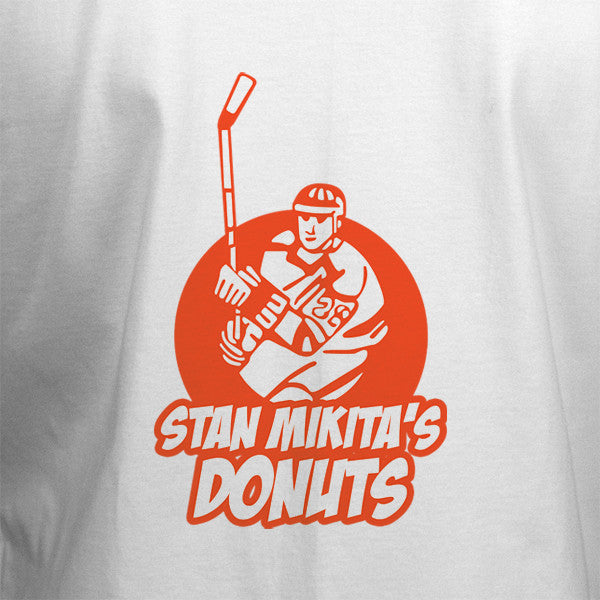 Stan Mikita Donuts T-Shirt - White - BBT Clothing - 2