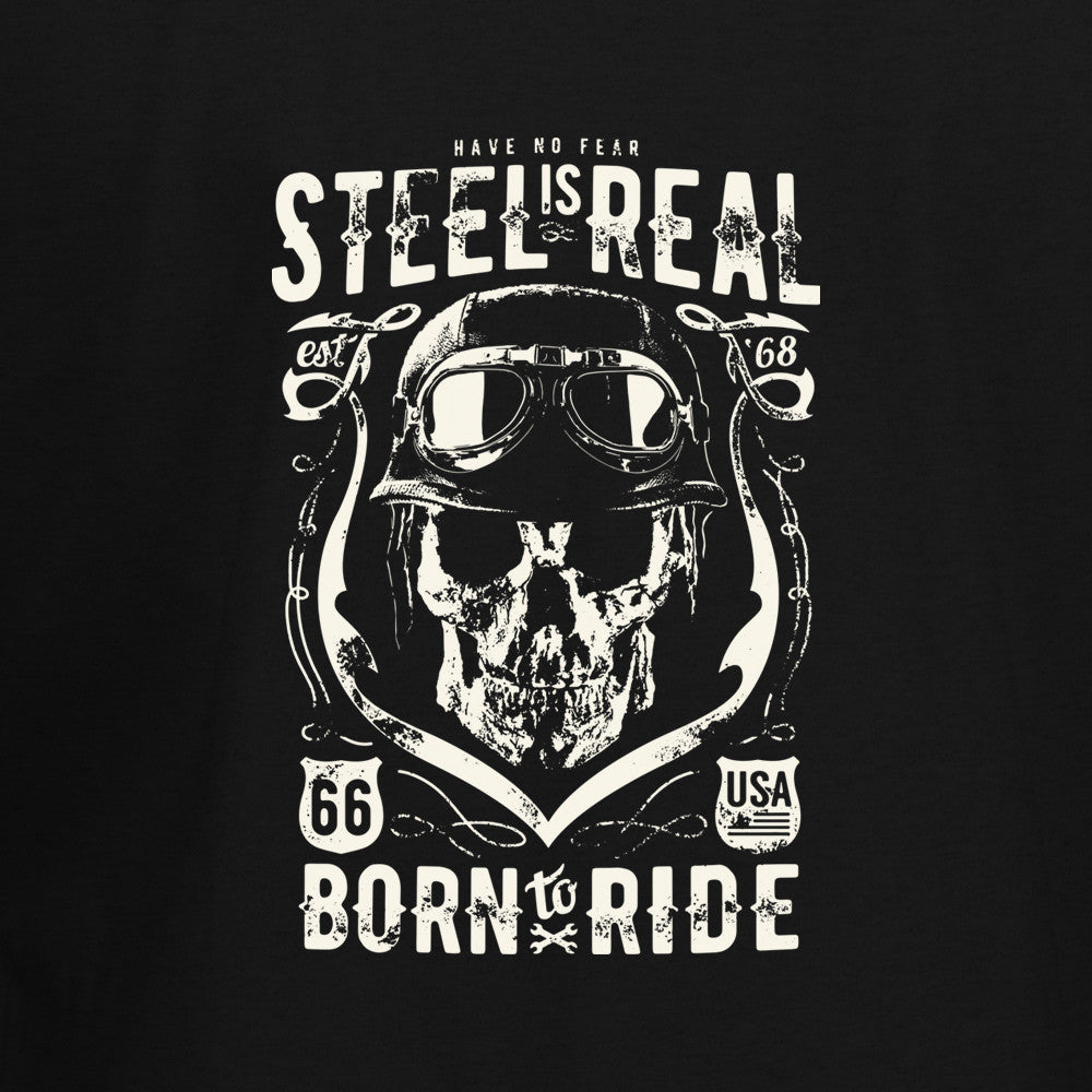 Steel Is Real T-Shirt - BBT Clothing - 2
