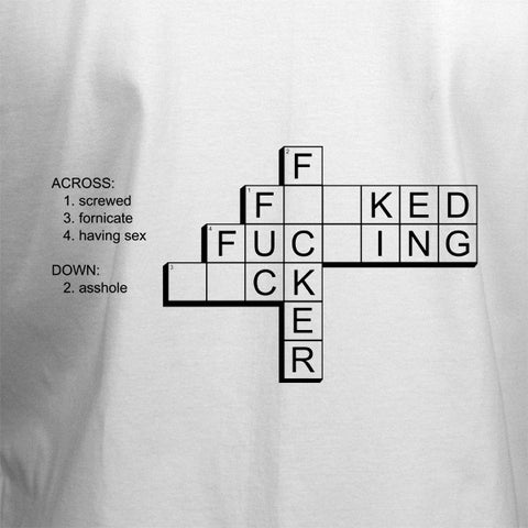 F*ck Crossword T-Shirt