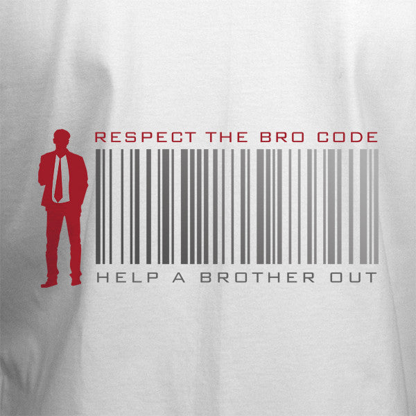 Respect The Bro Code T-Shirt - BBT Clothing - 2