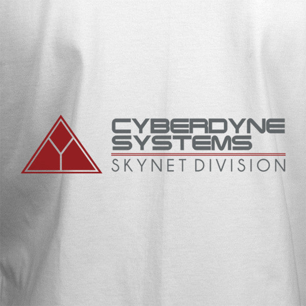 Cyberdyne Systems T-Shirt - White - BBT Clothing - 2