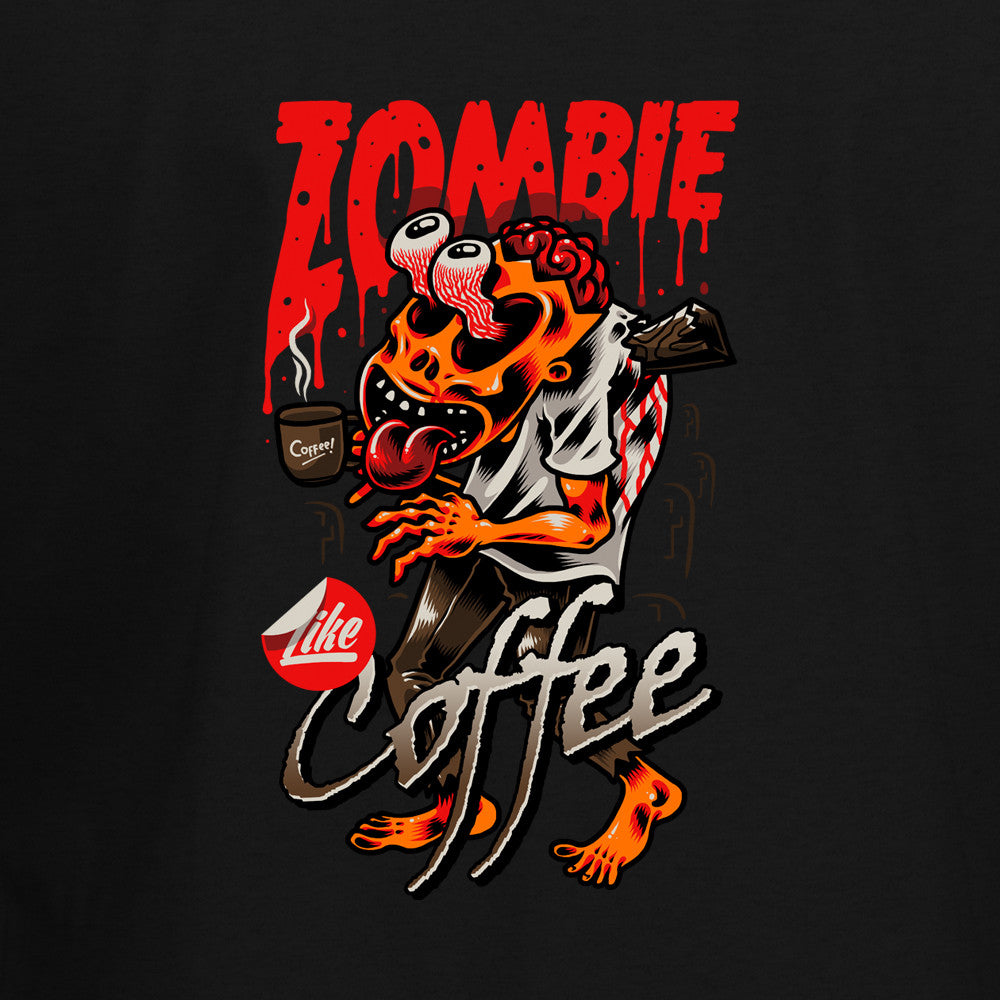 Zombie Like Coffee T-Shirt - BBT Clothing - 2