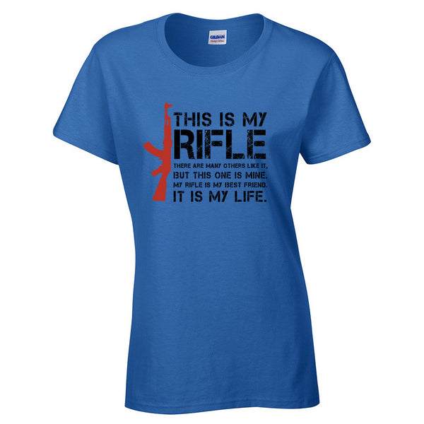 This is My Rifle Quote T-Shirt - BBT Clothing - 4