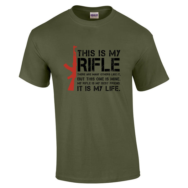 This is My Rifle Quote T-Shirt - BBT Clothing - 11
