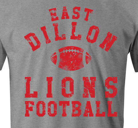 East Dillon Lions T-Shirt