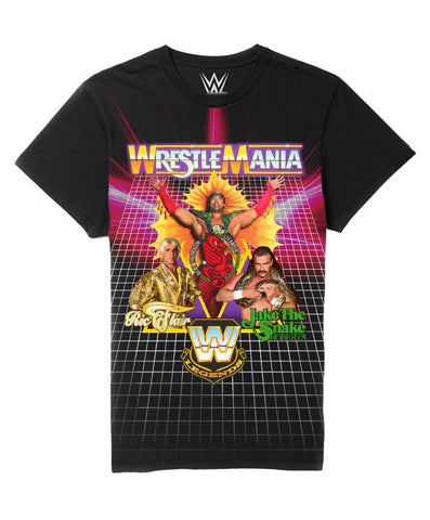 WWE T-Shirt - Classic Wrestlemania