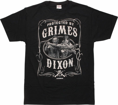 The Walking Dead T-Shirt - Protected By Grimes & Dixon