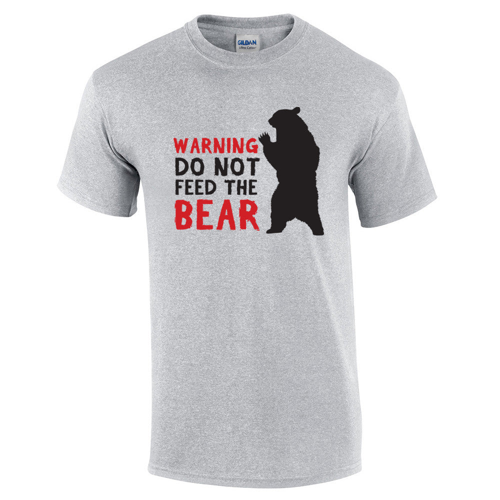 Do Not Feed The Bear T-Shirt - BBT Clothing - 8