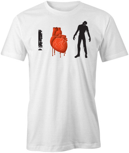 I Love Zombies T-Shirt - BBT Clothing - 1