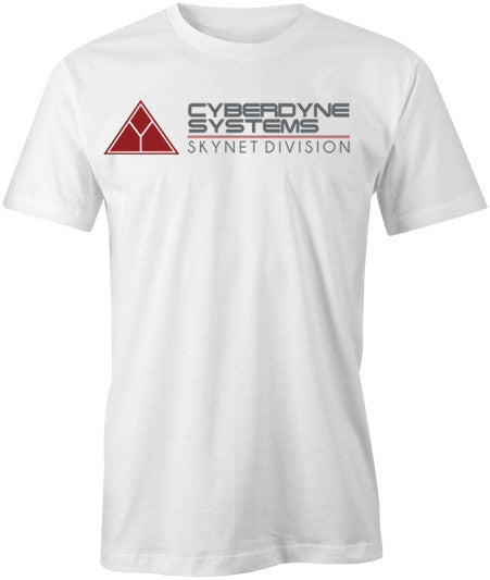 Cyberdyne Systems T-Shirt - White - BBT Clothing - 1