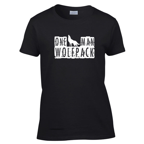 One Man Wolfpack T-Shirt - BBT Clothing - 4