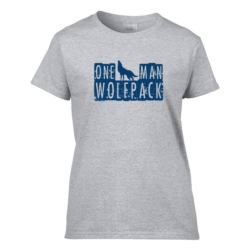 One Man Wolfpack T-Shirt - BBT Clothing - 7