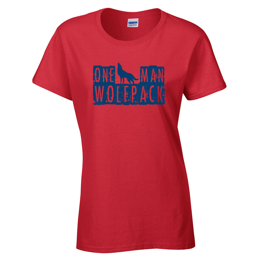One Man Wolfpack T-Shirt - BBT Clothing - 9