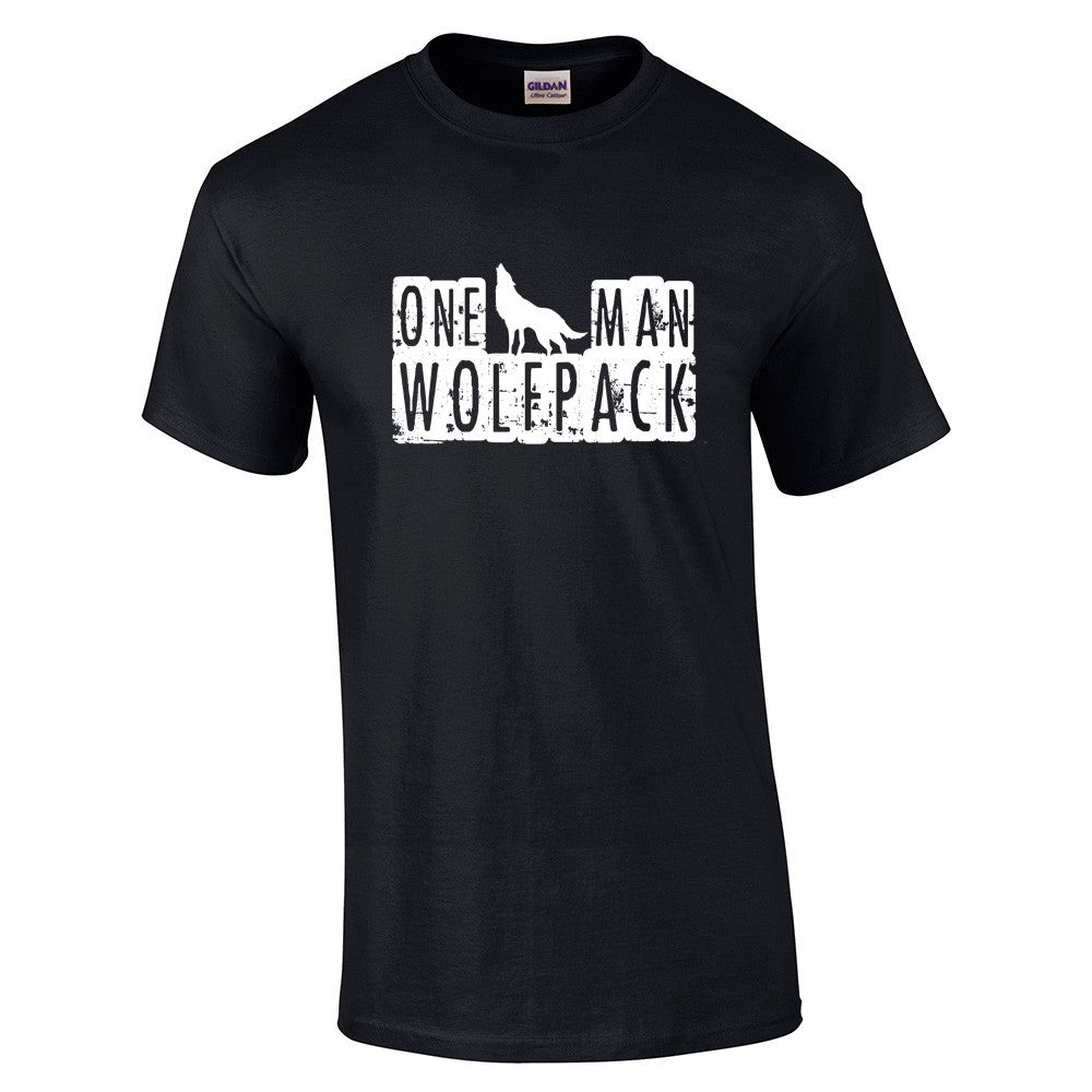 One Man Wolfpack T-Shirt - BBT Clothing - 11