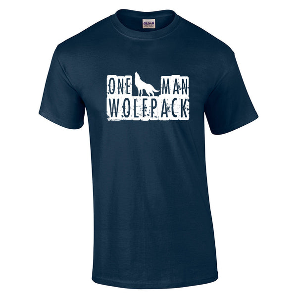 One Man Wolfpack T-Shirt - BBT Clothing - 12