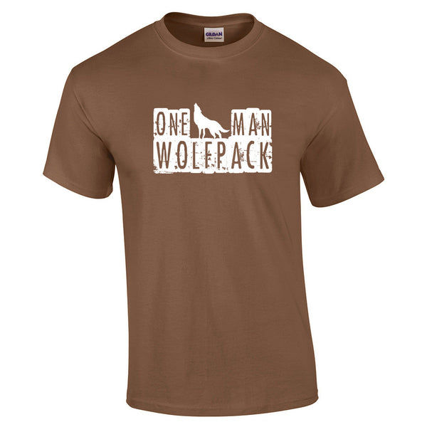 One Man Wolfpack T-Shirt - BBT Clothing - 13