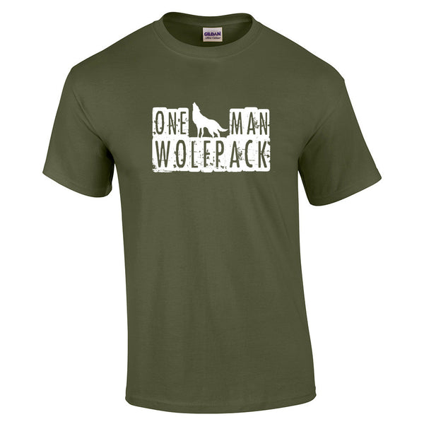 One Man Wolfpack T-Shirt - BBT Clothing - 14