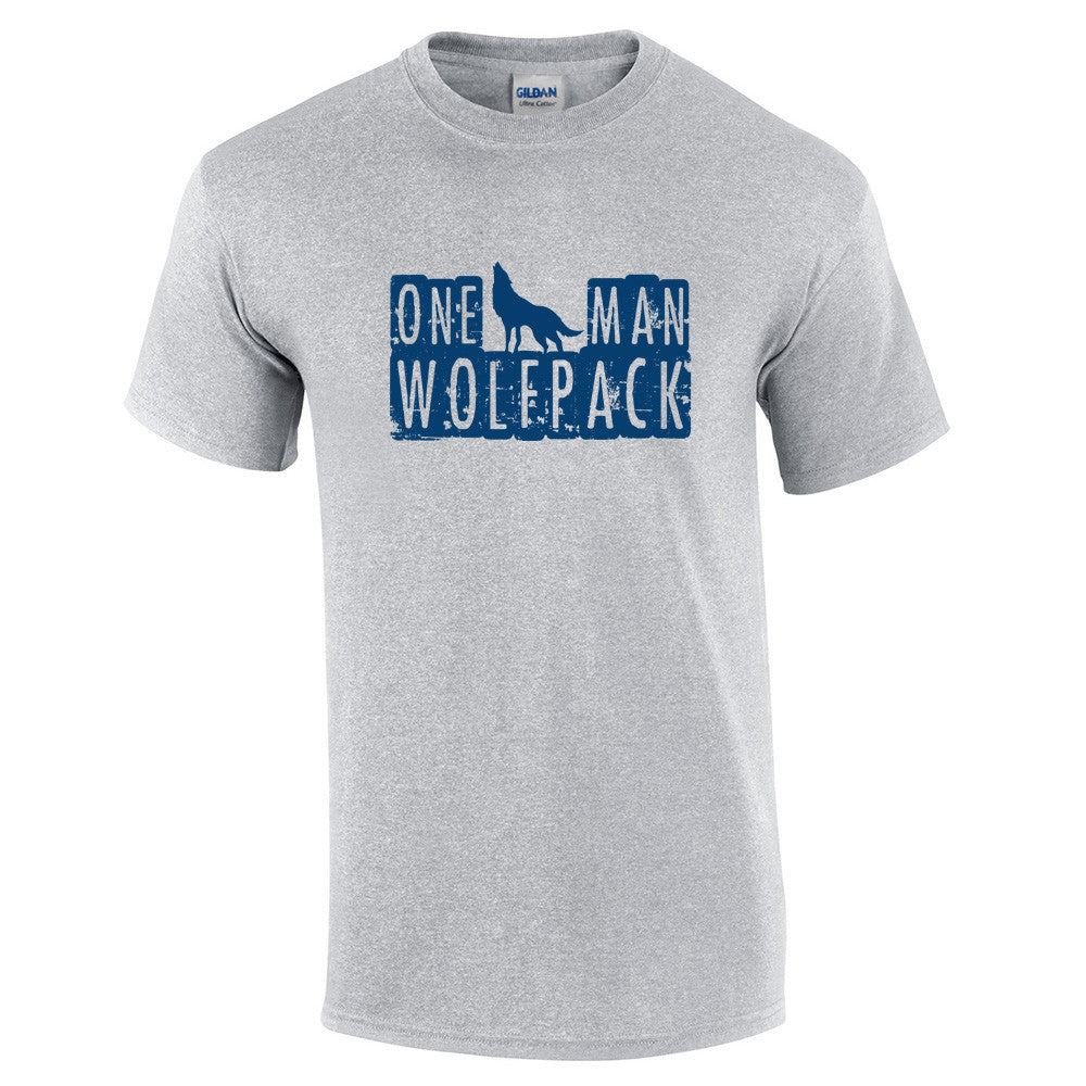 One Man Wolfpack T-Shirt - BBT Clothing - 15