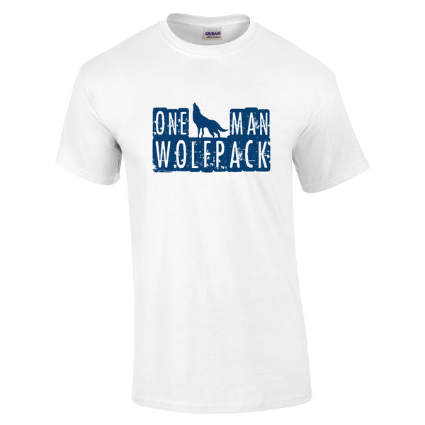 One Man Wolfpack T-Shirt - BBT Clothing - 16