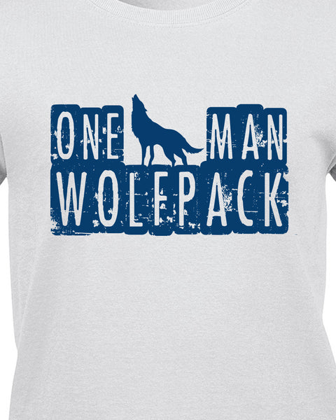 One Man Wolfpack T-Shirt - BBT Clothing - 17