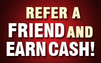 refer a friend get a fiver!