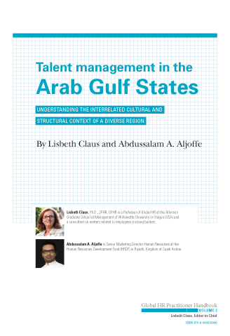 Talent Management in the Arab Gulf States