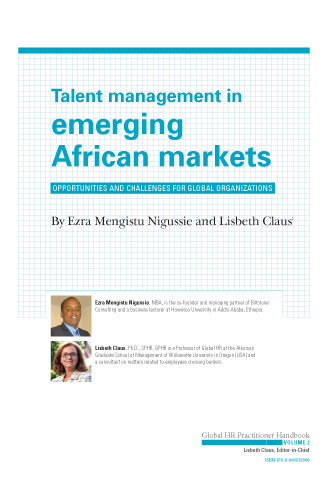 Talent Management in Emerging African Markets