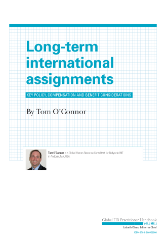 Long-Term International Assignments