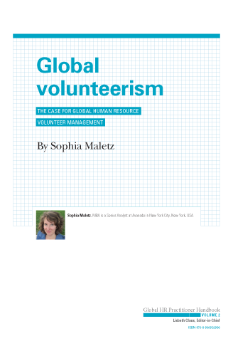 Global Volunteerism