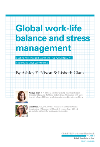 Global Work-Life Balance and Stress Management